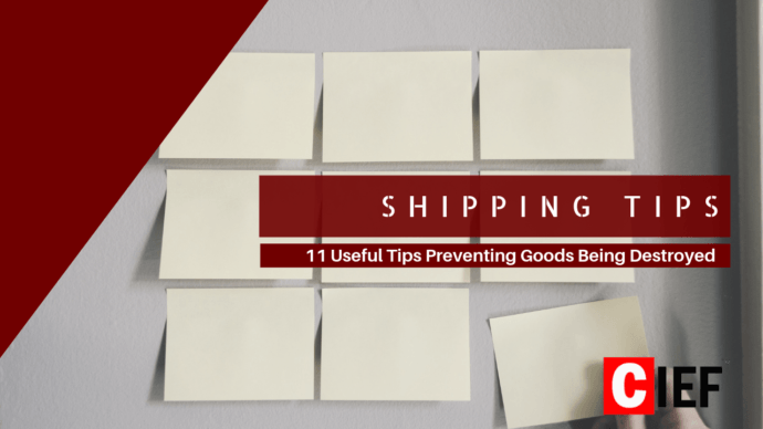 Shipping Tips - Prevent damage goods