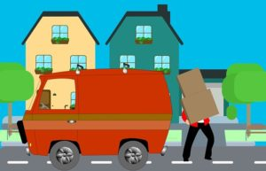 courier service causes goods received in bad condition